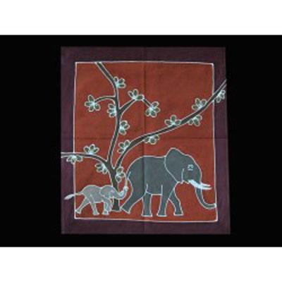 Závěsná textilie malá/588 - tradiční země