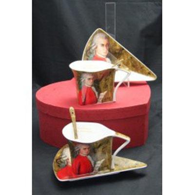 Porcelán - kávová souprava Mozart/atyp