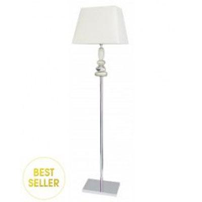 Stojací lampa/BT534 - Bílá