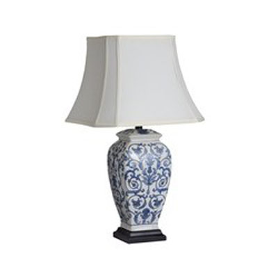 Stolní lampa Blue on White/1263