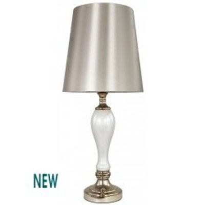 Stolní lampa White Pearl