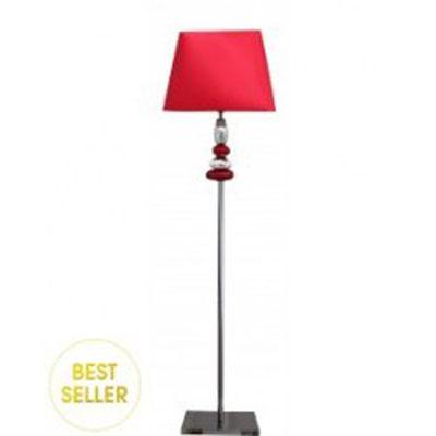 Stojací lampa Pebble/červená