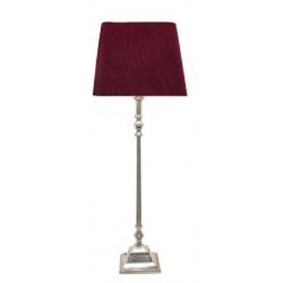 Stolní lampa/nikl