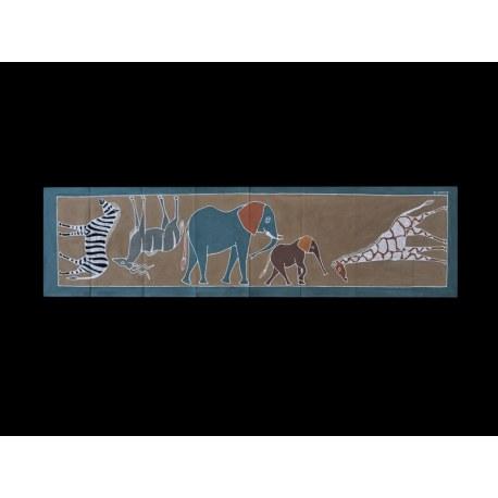 Ubrus/ Tradiční - Různá zvířata - Země/624