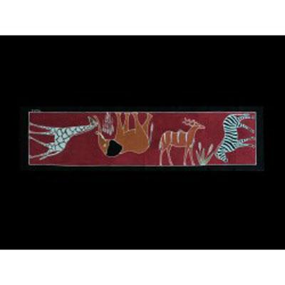 Ubrus/Tradiční - Různá zvířata - Stezky v buši/622