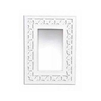 Zrcadlo v bílém rámu/08.10DF