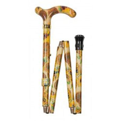 Vycházková hůl skládací hůl /4663A Van Gogh - pro malé ruce