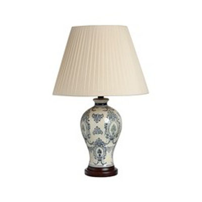 Stolní lampa Blue Pattern